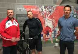 Andy Devaynes cycles Lands End to John O'Groats for the SPF