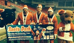 Over 150 Santas are expected in Santa Dash this Saturday