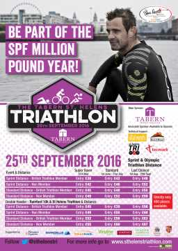 The Tabern St Helens Triathlon 2016 In association with the Steve Prescott Foundation