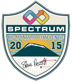 Spectrum - Sponsors of the Kilimanjaro Challenge 2015