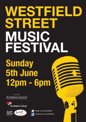 Westfield Street Music Festival Sunday 5th June 2016