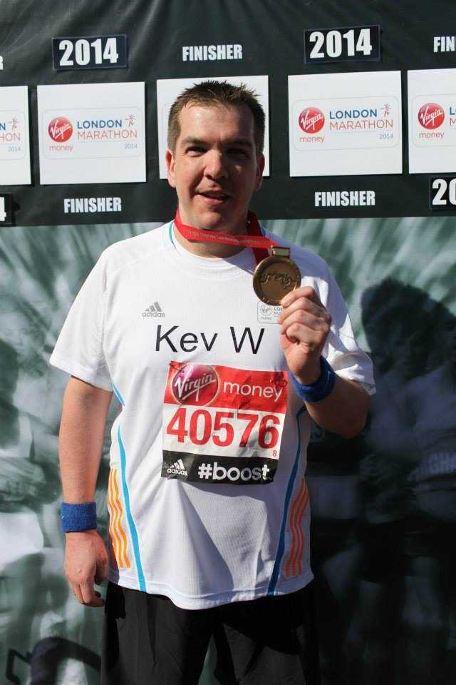 Kevin Wright runs the Rutland Marathon