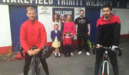 Wakefield Wildcat Fan's Cycle from Wakefield to Perpignan in aid of the SPF