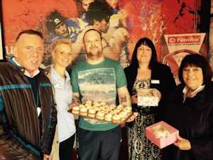 Coffee morning raises funds for the SPF and Macmillan Cancer Support