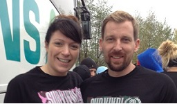 Neil and Nicola complete the Great North Run
