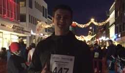 Hull FC supporter Peter Starling completes the Polar Night Half Marathon  inspired by Steve Prescott MBE