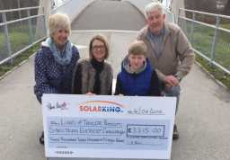Pilkington Horticultural Society donates a magnificent £3315