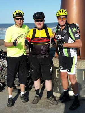 322k Coast to Coast cycle ride for the SPF