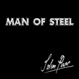 Man Of Steel - John Parr CD Cover