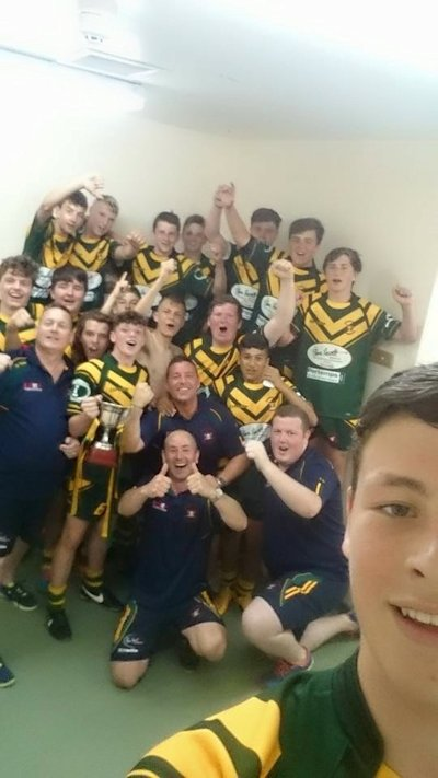 Congratulation to Woolston Rovers 15's