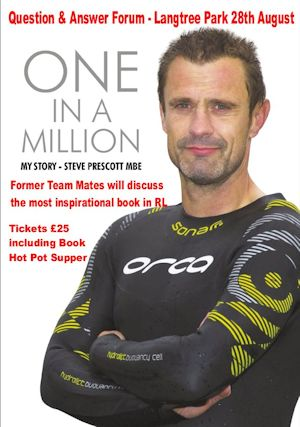 Steve Prescott MBE Forum – One in a Million Book Launch