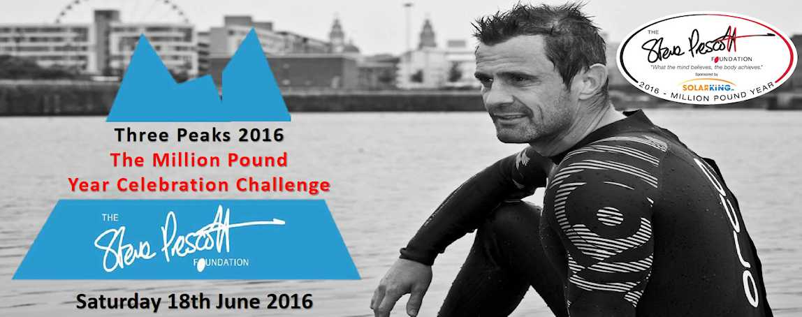 Three Peaks 2016 - The Million Pound Year Celebration Challenge