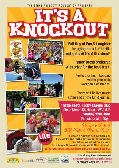 It's A Knockout Thatto Heath ARLFC  8th May 2016
