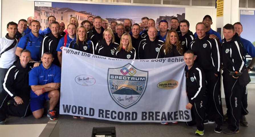 Our world record breakers are now on their way!