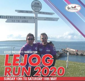 SPF Virtual LEJOG RUN 2020 raises £12.5k