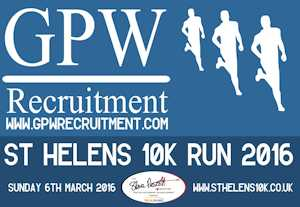 The GPW Recruitment St Helens 10K is back for it's sixth year!