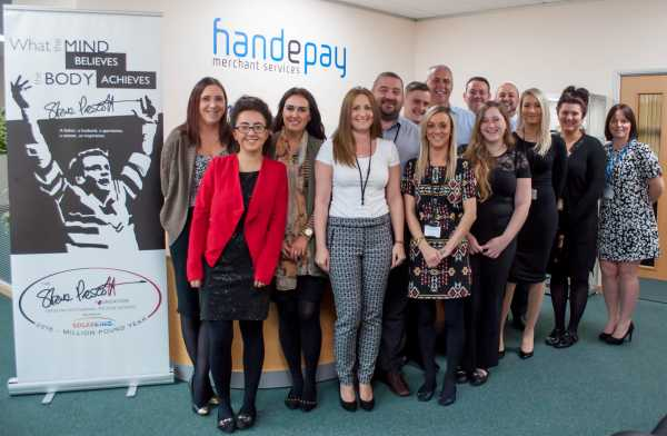 Handepay staff in final push to reach £10k charity target