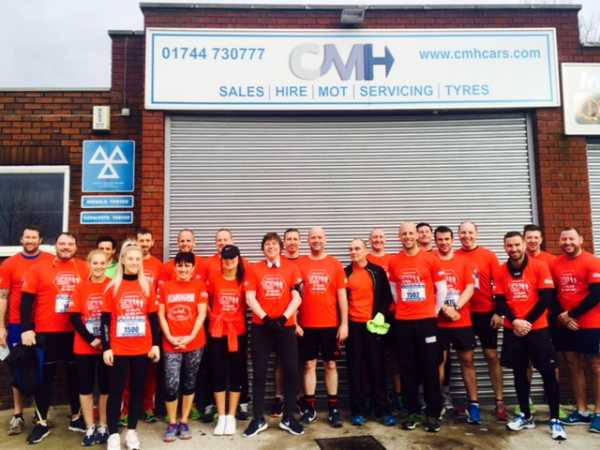 #TeamPrecky run GPW Recruitment 10k and raise over £5k for the SPF