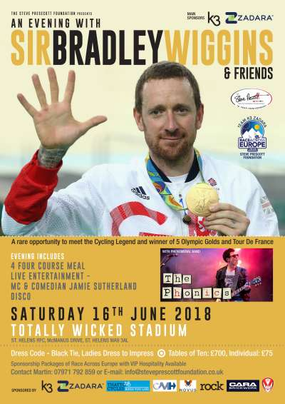 A Evening with Sir Bradley Wiggins and Friends